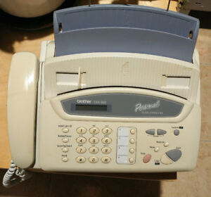 •Brother FAX-560 Personal Plain Paper Fax, Phone, and Copier