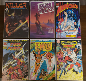 1980's Science Fiction & Fantasy Comics (All 1st. Issues)