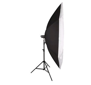 7 foot octo softbox and light stand