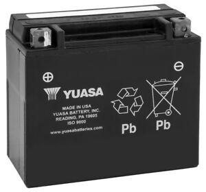 New Yuasa Maintenance Free ATV/UTV Battery - 2006-2011 Suzuki LTR450 QuadRacer