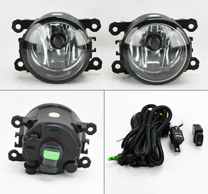 Suzuki Grand Vitara & SX4 06-12 Euro Clear Front Fog Lights Kit RH LH Pair
