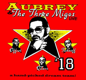 Drake and Migos 2 Tickets Section 312 - Wed Aug 22