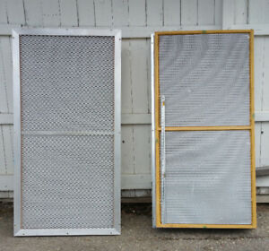 2 large hepa filters for clean room paint booth   $50 for both