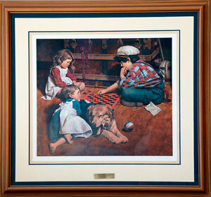Tie Breaker by Daly: signed print