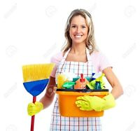 EXPERIENCED, RELIABLE CLEANER ACCEPTING NEW CLIENTS