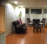 3 Bedroom Furnished Basement for Rent in Thickwood/Timberlea