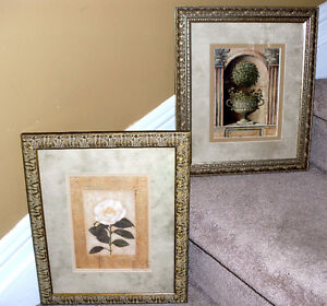 Set of Bombay framed prints - Wall decor, 12.5 by 15 inches
