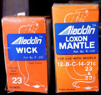 Wick & Mantle for Aladdin lamps - NOW FREE!