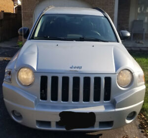 "2007 Jeep Compass 4x4 (Currently being driven, Sold ""as is"")"
