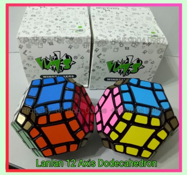 - Lanlan 12-Axis Dodecahedron for sale ! Brand New challenging cube !