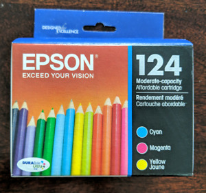 **NEW/NEVER OPENED! Epson Printer Ink 124 Color Pack