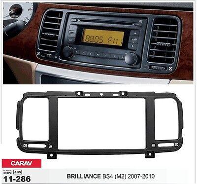 CARAV 11-286 2DIN Car Radio Dash Kit panel for BRILLIANCE BS4 (M2) 2007-2010