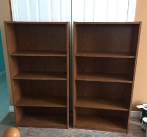 Two Book/DVD/CD Shelves
