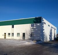 Bay #1 for Lease: Office / Warehouse / Yard  - North Red Deer