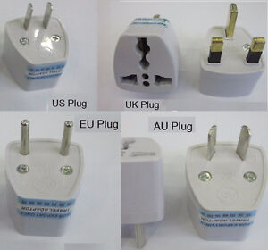 EU UK US CA Rus AU NZ China S.Africa - Power Outlet Plug Adapter