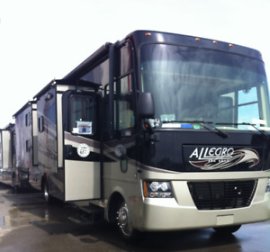2012 Tiffin Allegro 35' Gas V10 Class A Motorhome for Sale