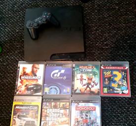 PS3 & 7 Games