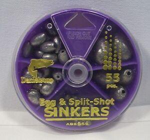 Danielson egg split shot sinkers fishing weights for Split shot fishing