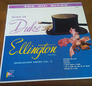 LP: Music of Duke Ellington and others, Bandleader Series
