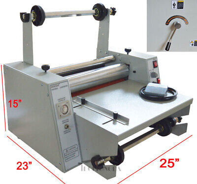 Lamination Heated Roll Laminator Machine Hot Thermal Machine Photo Art Office Us