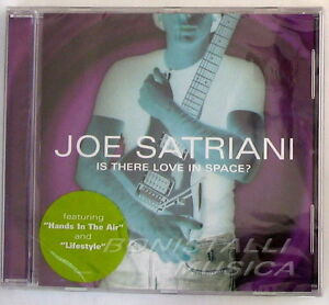 JOE-SATRIANI-IS-THERE-LOVE-IN-SPACE-CD-Sigillato