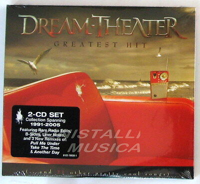 Dream Theater Greatest Hits (DREAM THEATER - GREATEST HITS - Double CD Sigillato )