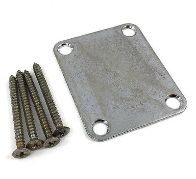 Neck Kit - Gotoh Factory Aged(Relic) Neck Plate Kit for Fender® Strat/Tele/Bass AP-0600-007