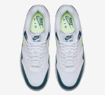 50dd323d6b84 Brand New Men s Nike Air Max 90 1 White Lime Wolf Grey Size