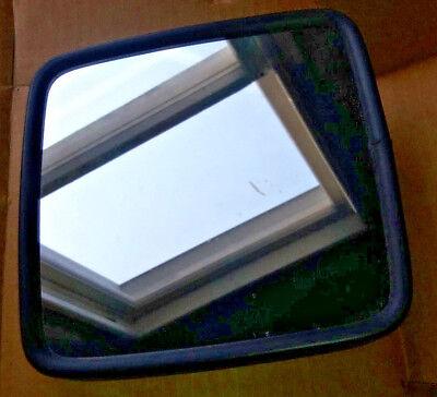 (Rosco Mirrors PVC Rim SS Black Finish Head L/R Front Mirror 8