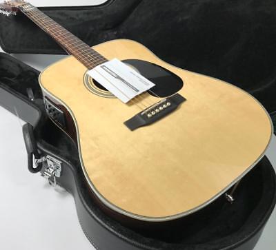 2018 Top Quality  Electric Acoustic Guitar Solid Spruce Fishman Bone Nut D28P