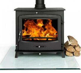 Stove. Multi-fuel. 30 KiloWatts. 4 year warranty.