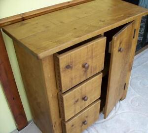 any-size-made-SOLID-WOOD-SIDEBOARD-CUPBOARD-DRESSER-BASE-RUSTIC-PLANK-PINE