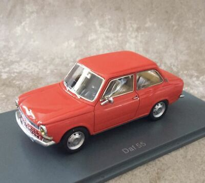 NEO 1/43 Scale Resin Model DAF 55 car red