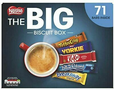 Nestle The Big Biscuit Variety Mix Giant Box - 71 Bars - FREE DELIVERY