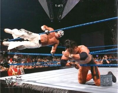 Official WWE 8x10 Photofile Glossy Promo Photo - Rey Mysterio  - 619 2004