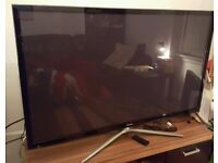 "60"" SAMSUNG SMART 3D TV CAN DELIVER"