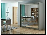 ♝ ❁SLIDING MIRRORED DOOR CHICAGO WARDROBES IN DIFF SIZES AN COLORS ❀
