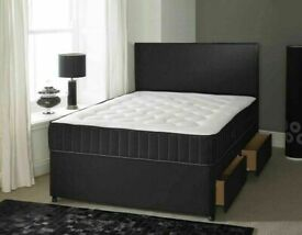 ⭐🆕EVERYTHING MUST GO! LUXURY DIVAN BED BASES IN ALL SIZES & COLORS READY GRAB ONE TILL STOCK LAST