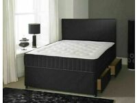 ⭐🆕HUGE DISCOUNTED SALE LUXURY DIVAN BED BASES IN ALL SIZES & COLORS READY GRAB ONE TILL STOCK LAST