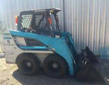 Bobcat toyota 4sdk5 skid steer loader norm 4 in 1 forks digga Montville Maroochydore Area Preview