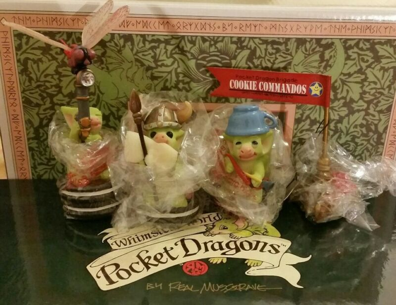 RC 💖 Pocket Dragons Dragon *New*🏹Cookie Commandos🛡*Members Only Edition*2005