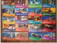 Job Lot of 20 Footprint Travel Guides - Asia Europe South America Africa India etc.