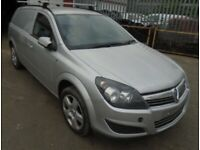 Vauxhall Astra Van. Silver Bonnet. Breaking spare parts