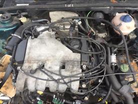 VW Golf Mk3 VR6 engine