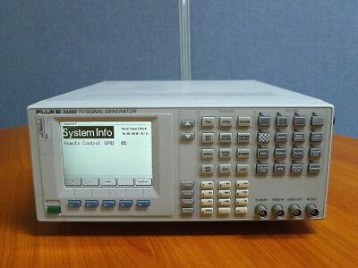 Fluke54200 Tv Signal Generator Wopts 11ea