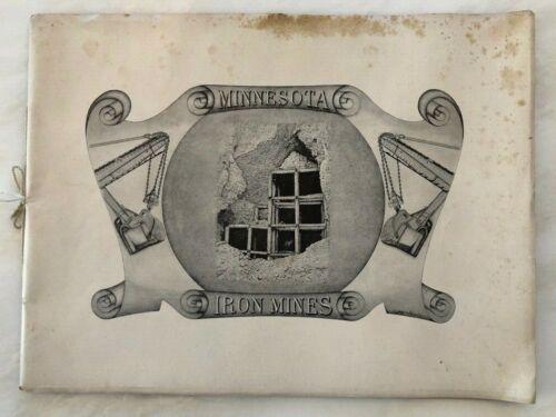 1905 MINNESOTA IRON MINES Photography BOOK Duluth MESABI RANGE Duluth Hibbing