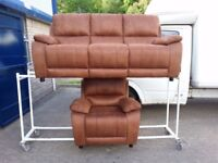 Harveys suite and chair all reclines