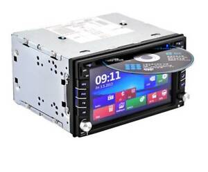 HD Double 2 Din Car DVD Stereo FM Player GPS Navigation W/ 8GB Sydney City Inner Sydney Preview