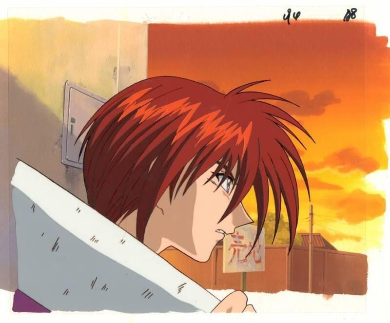 Anime Cel Rurouni Kenshin #20