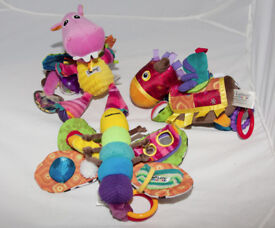 Lamaze Butterfly Dragn and horse